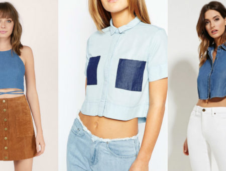Denim-Crop-Top