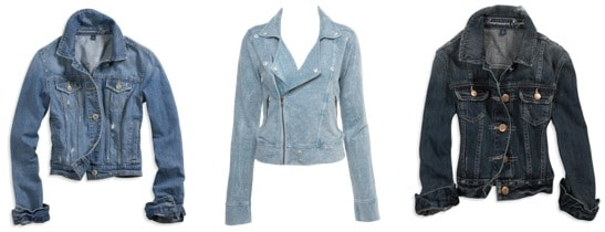 Jean jackets for fall