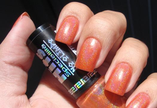 Dented nail polish