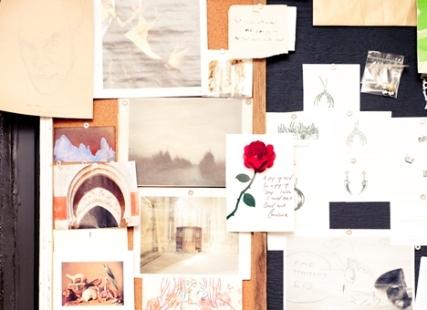 Designer Waris Ahluwalia's Inspiration Board