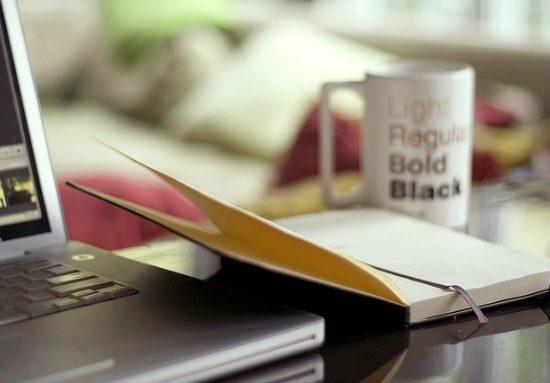 Desk closeup