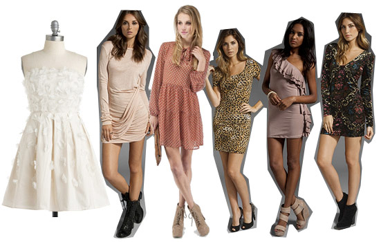 Detailed holiday dresses