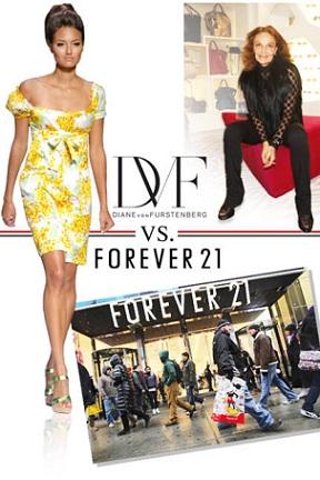 Diane von Furstenberg VS. Forever 21