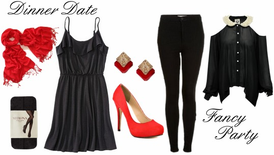 Dinner date fancy party outfits