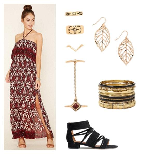 Greek Mythology Fashion- Dionysus-inspired outfit