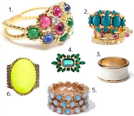 Dior fall 2013 inspired jewelry