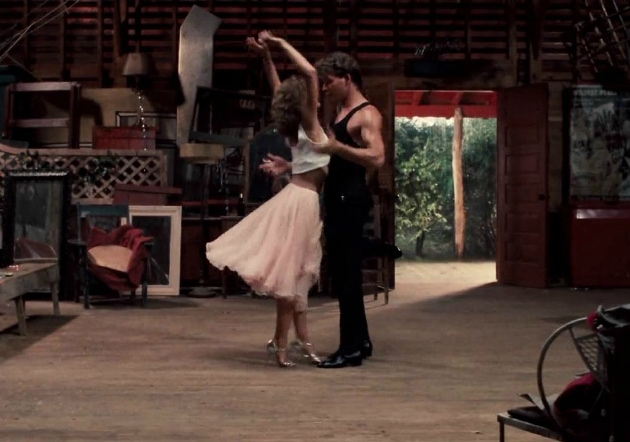 Dirty Dancing tulle skirt and tank top