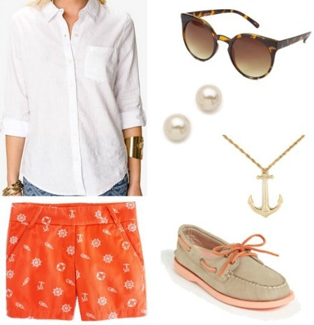 Disney cruise line outfit 1