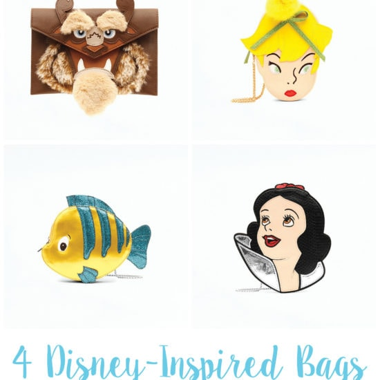 4 Disney-Inspired bags every Disney girl needs