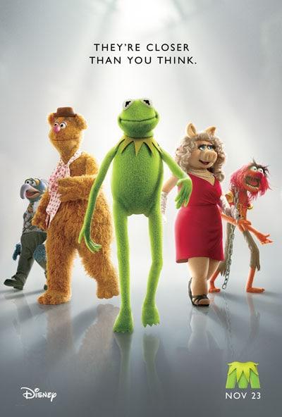 Walt Disney Muppets Movie poster