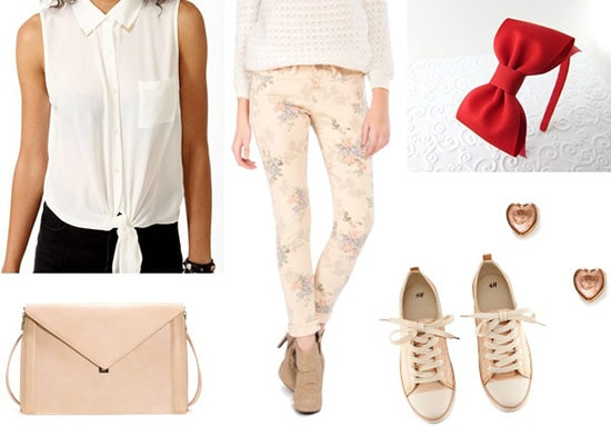 Fashion inspired by Disney's Paperman: Outfit 1