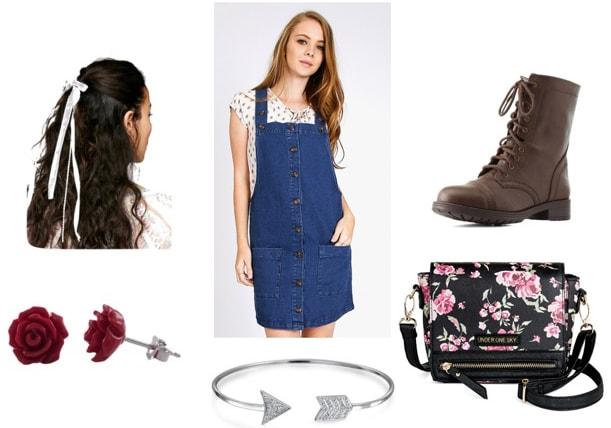 Disney Princesses meet Katniss outfit