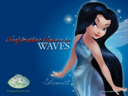 Disney's faerie Silvermist