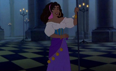 Esmerelda from Disney's The Hunchback of Notre Dame