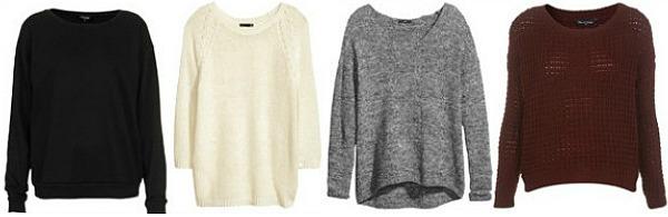 Distressed sweaters wardrobe staple