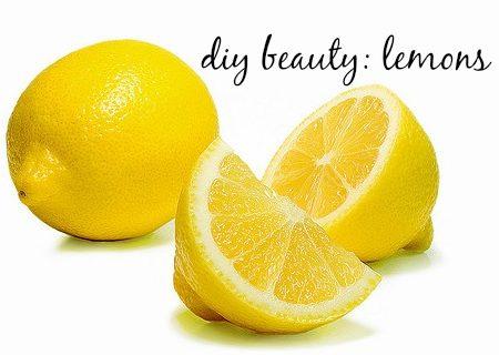 DIY Beauty: Lemons