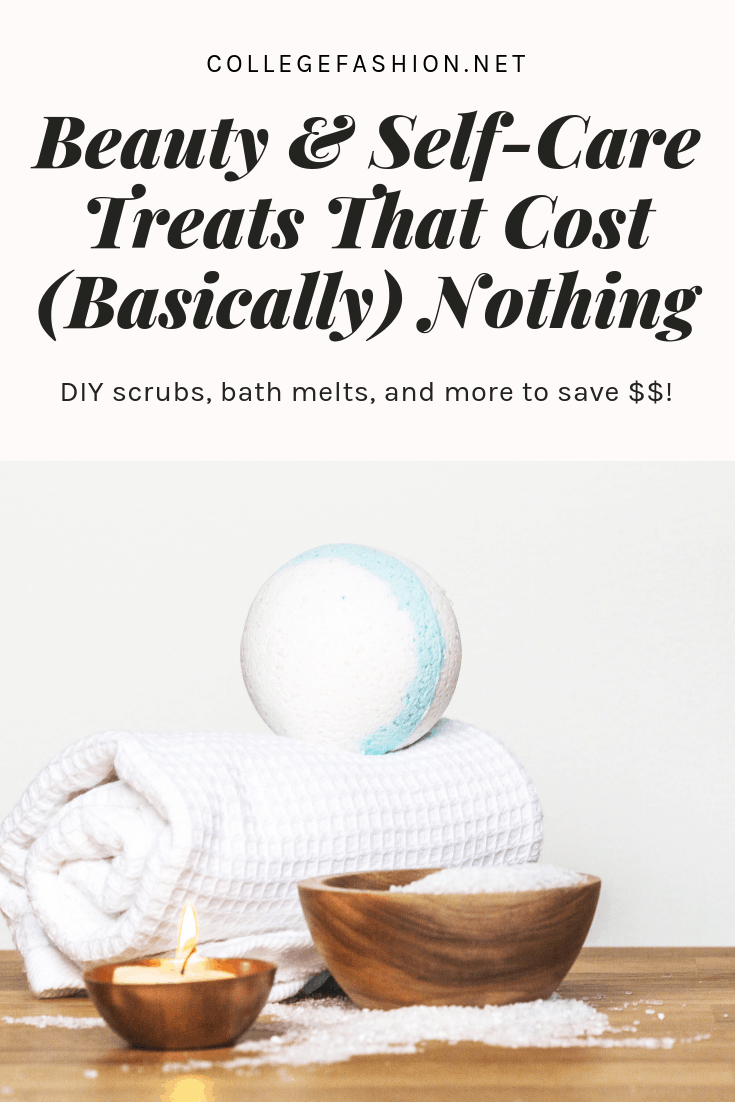 DIY beauty and self care treats to save you money