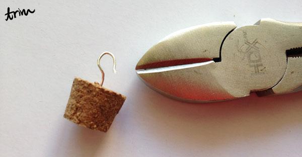 Diy corked vial pendants step 6