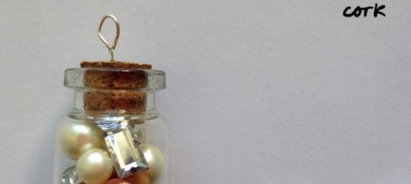 Diy corked vial pendants step 9