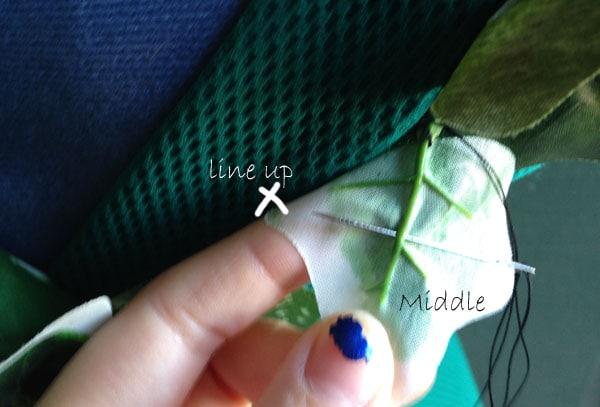 Diy costume poison ivy tip2,2,