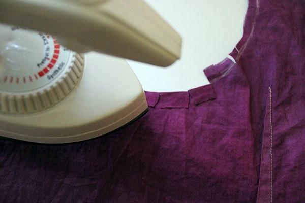 Diy cut out blouse step 3 part 2