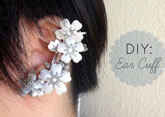 DIY ear cuff