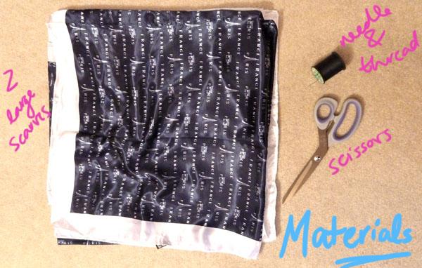 Diy kimono jacket materials