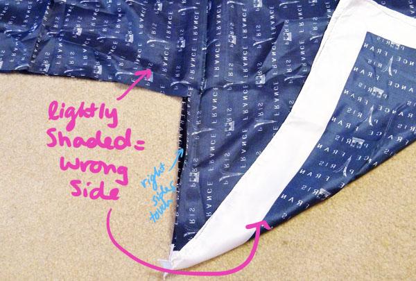 Diy kimono jacket step 4.1