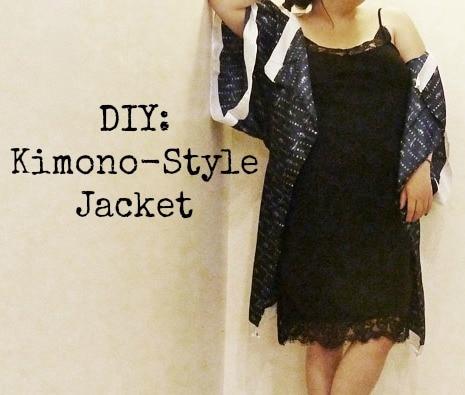 DIY Kimono jacket