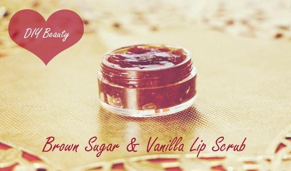 DIY Beauty: Brown Sugar & Vanilla Lip Scrub