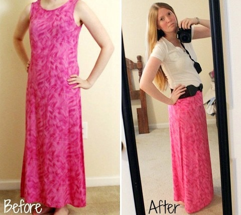 DIY Revamp: How to Turn an Old Dress into a Maxi Skirt ...