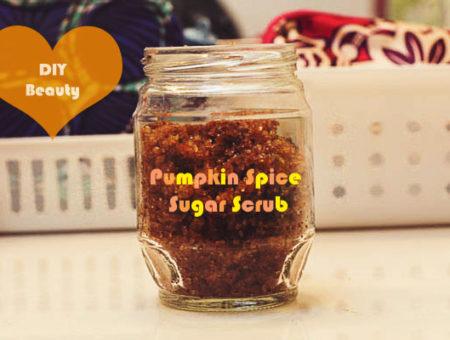 DIY Beauty: Pumpkin Spice Sugar Scrub