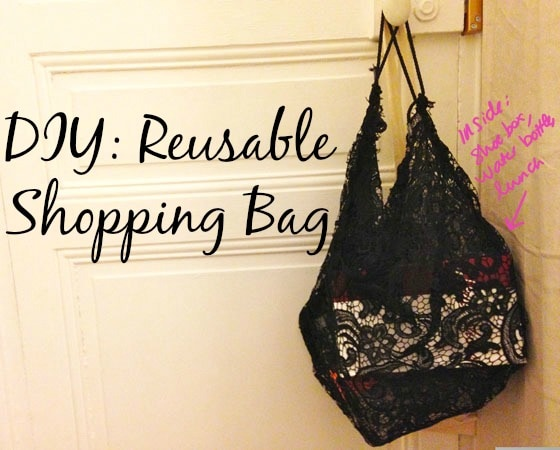 Diy reusable shopping bag