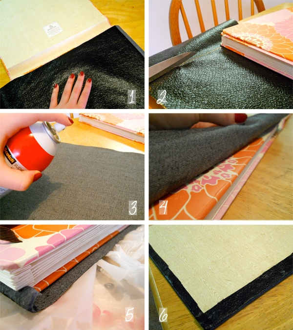 DIY School Supplies Project Steps