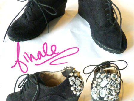DIY Spike Shoe Finale