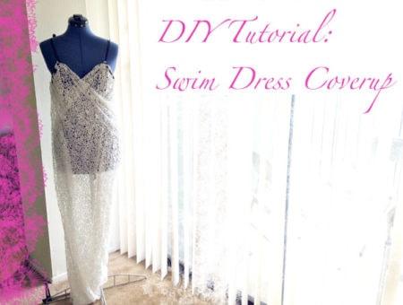 DIY Swim Dress Cover-Up