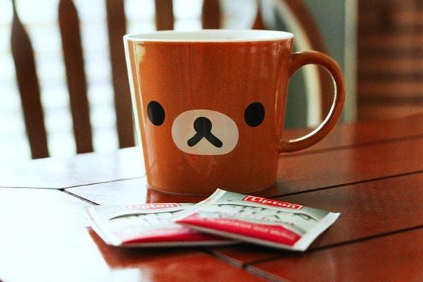 DIY tea bag supplies