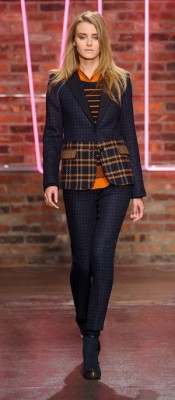 DKNY Fall Suit Look