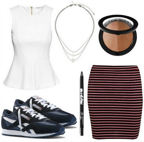 DKNY Spring 2015 Outfit 2