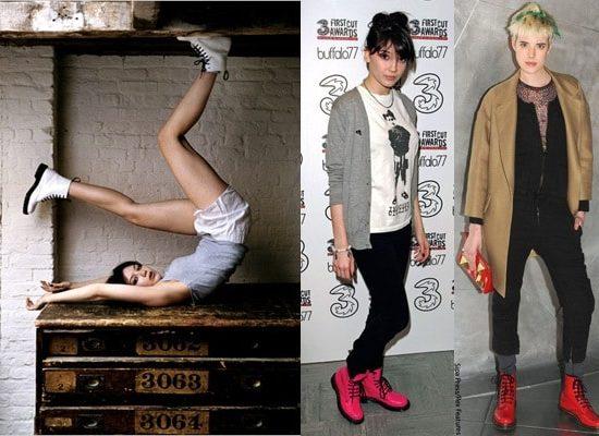 Doc Martens fashion trend - celebrities doc martens