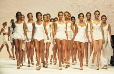 Dolce and Gabbana Finale with Models