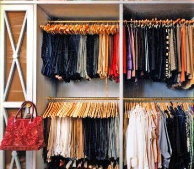Dream Closet from Domino Magazine