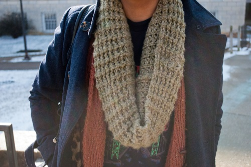 College street style trend: layering