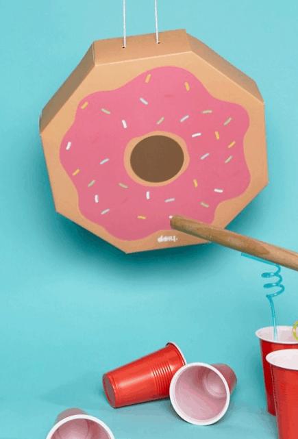 doughnut-shaped pinata