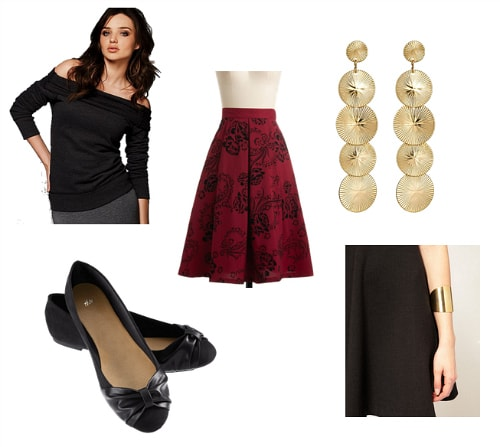 Dorothy Dandridge Inspired Outfit 1