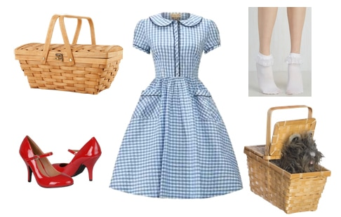 Dorothy costume from The Wizard of Oz