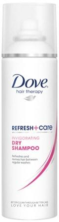 Dove refresh+care invigorating dry shampoo
