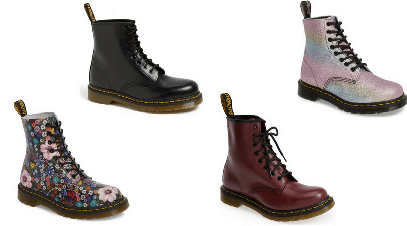 2f752cf2f4f Edgy style 101  Dr. Martens boots in floral