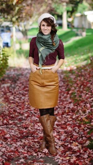 Dress worn under a skirt