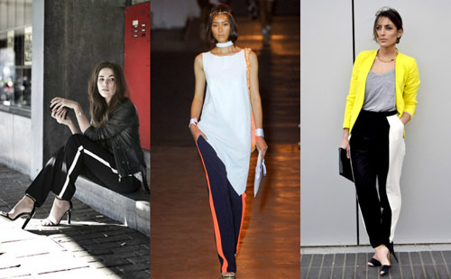 Spring fashion trend: Dressed up track pants